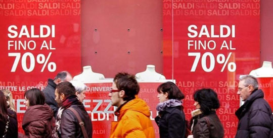 Turijn_saldi-uitverkoop