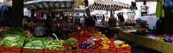 Biologische markten in Turijn