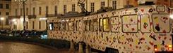 Dineren in rijdende tram: Ristocolor