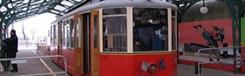 Met het rode treintje naar de Superga