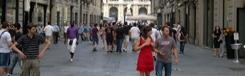 Winkelstraten in Turijn