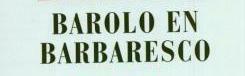 Barolo en Barbaresco