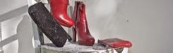 Schoenen en tassen van Manuela Gomez in Turijn